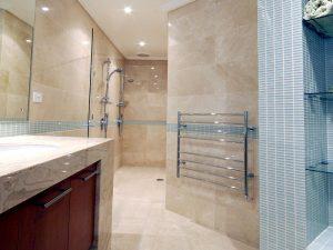 Perth architect bathroom design